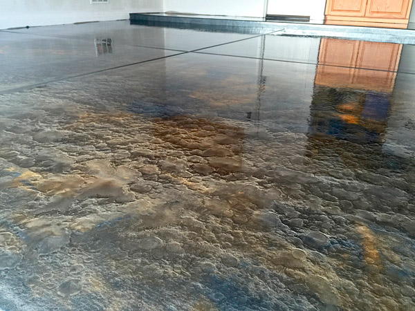 Metallic Epoxy Chattanooga Concrete Staining