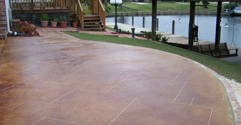 Chattanooga Stained Concrete
